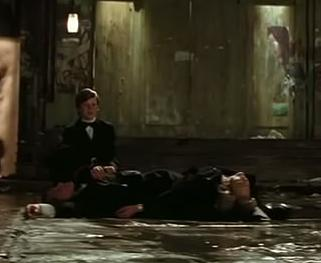 Bruce's parents were been killed (screen capture of the movie)